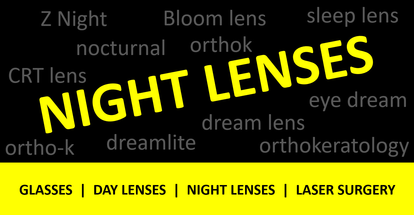 How to grow the Ortho-K market? Call them 'Night Lenses'